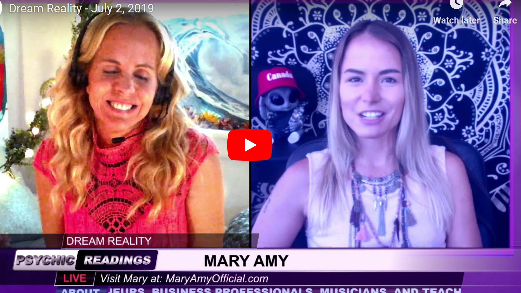 Mary Amy – Intuitive & Spiritual Coach